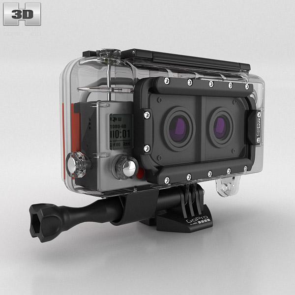 GoPro Dual HERO System HERO3+ 3D model