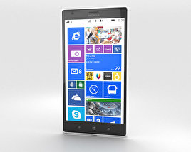 3D model of Nokia Lumia 1520 White