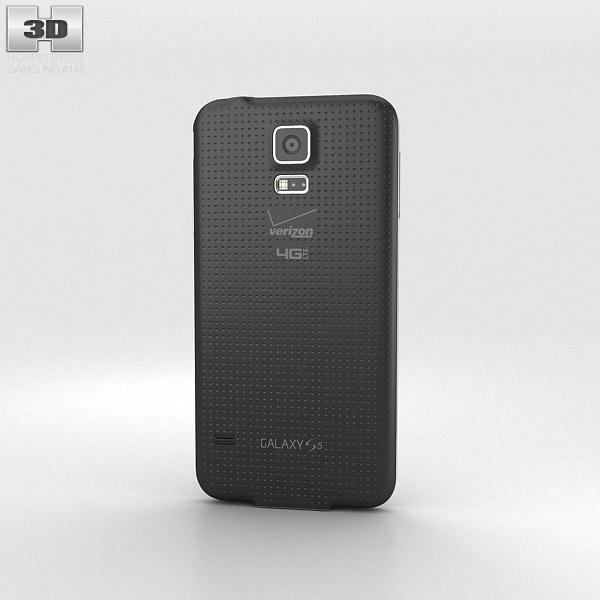 Samsung Galaxy S5 (Verizon) Charcoal Black 3d model