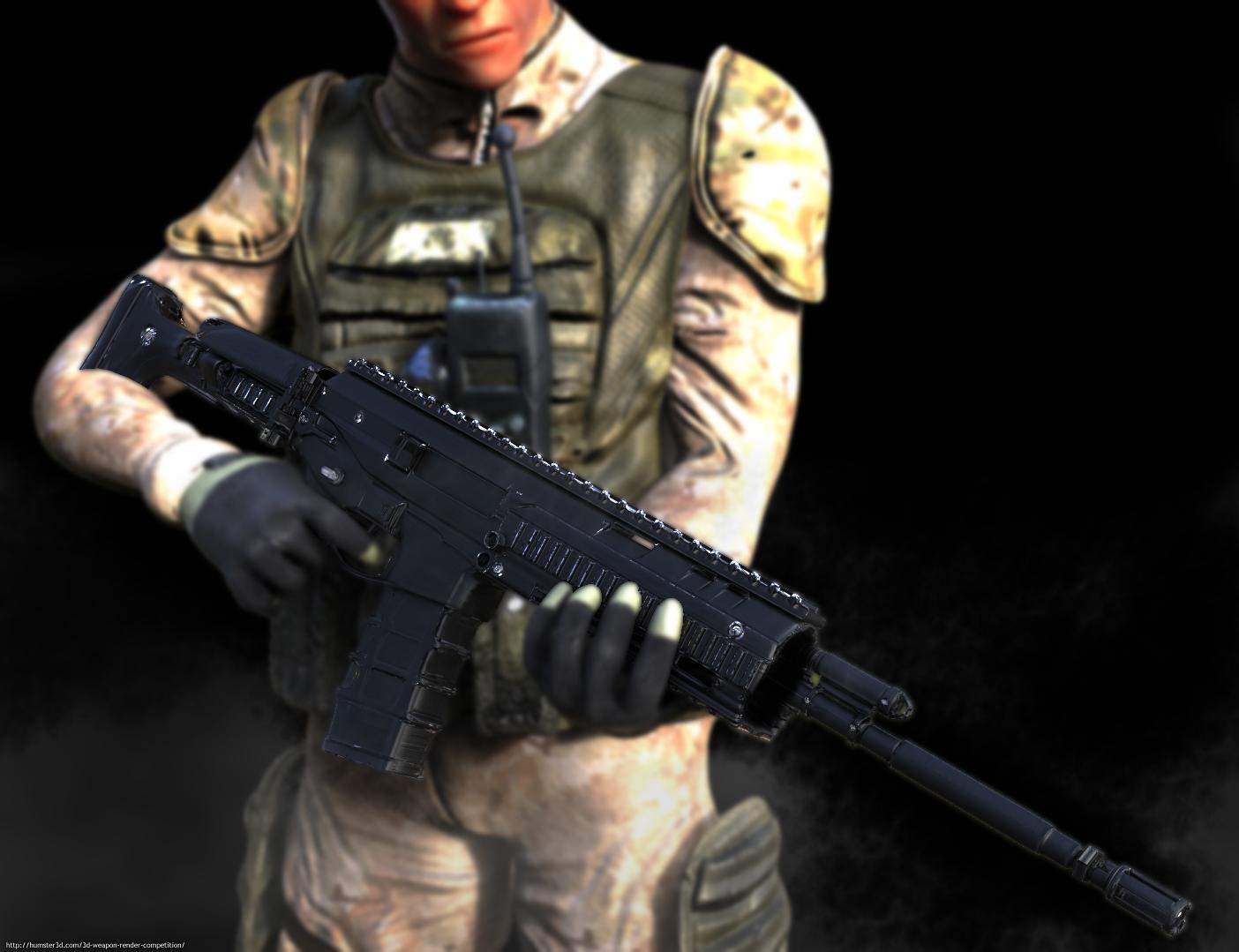 The Mercenary 3d art