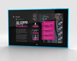 Nokia Lumia 2520 Cyan 3D model