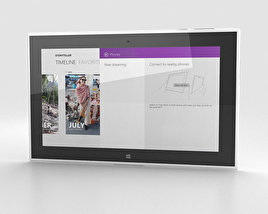 Nokia Lumia 2520 White 3D model