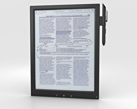 3D model of Sony Digital Paper