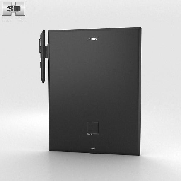 Sony Digital Paper 3d model