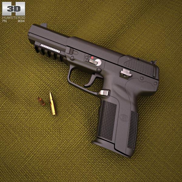 FN Five-seven Modello 3D