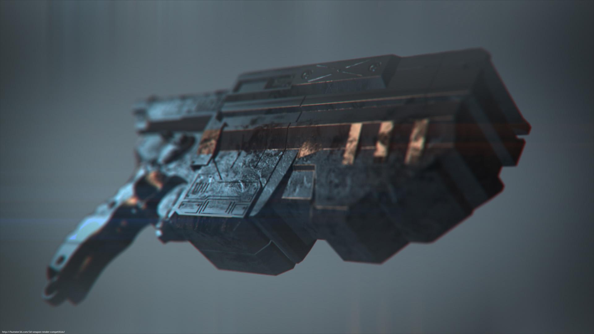 The Nerf gun! 3d art