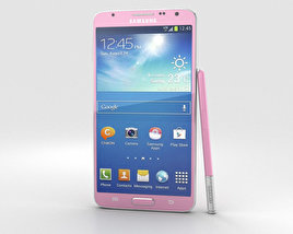3D model of Samsung Galaxy Note 3 Neo Pink