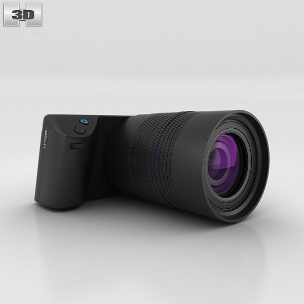 3D model of Lytro Illum Black