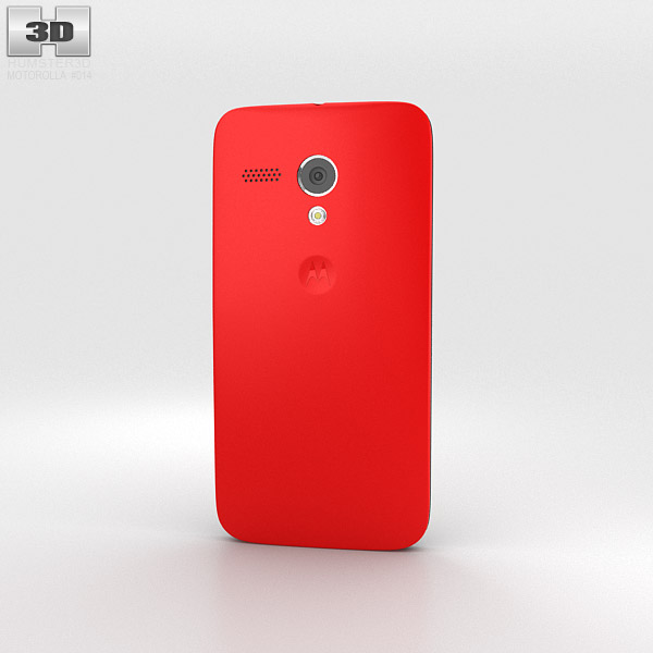 Motorola Moto G Cherry 3d model