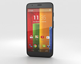 3D model of Motorola Moto G Chalk