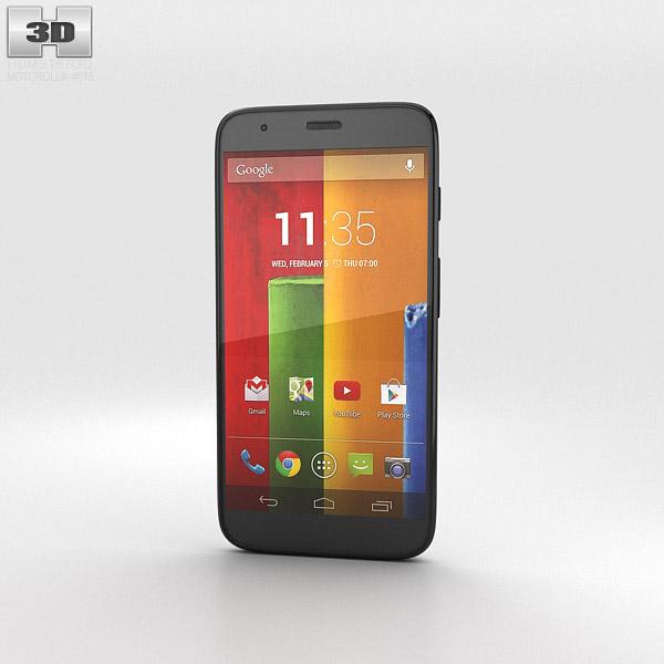 Motorola Moto G Chalk 3d model