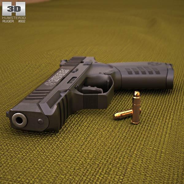 Ruger SR22 3d model