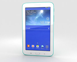 3D model of Samsung Galaxy Tab 3 Lite Green