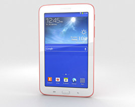 3D model of Samsung Galaxy Tab 3 Lite Pink