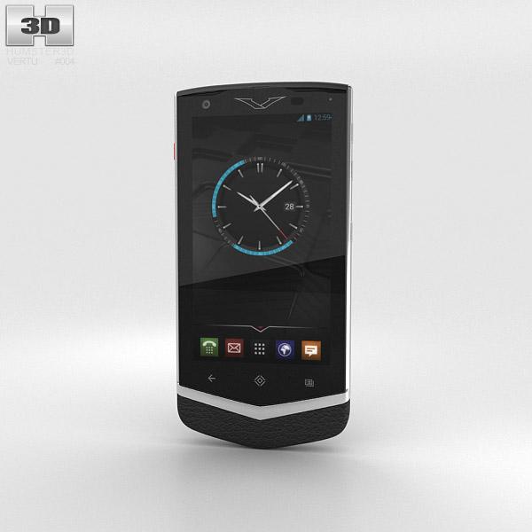 Vertu Constellation 2013 Black 3d model