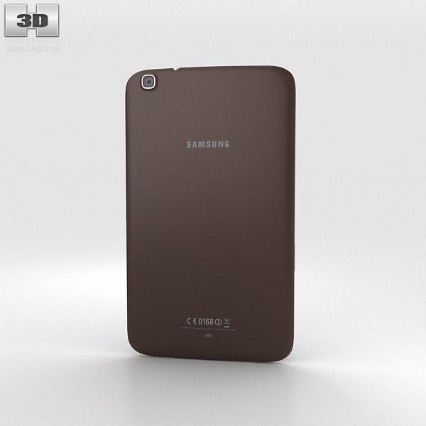Samsung Galaxy Tab 3 8-inch Gold Brown 3d model