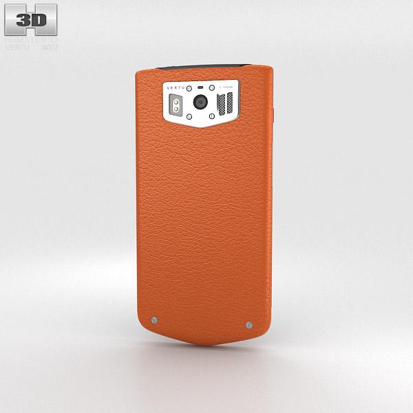 Vertu Constellation 2013 Orange 3d model