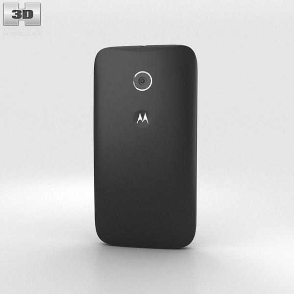 Motorola Moto E Black 3d model