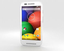 3D model of Motorola Moto E White