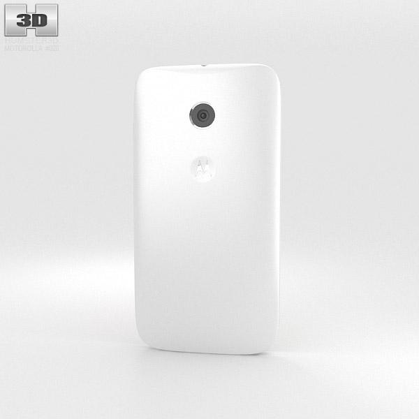 Motorola Moto E White 3d model