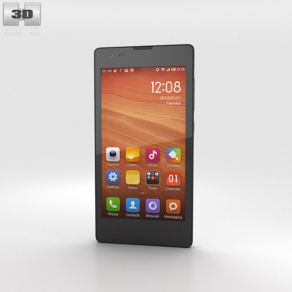 3D model of Xiaomi Hongmi White