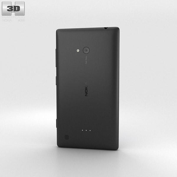 Nokia Lumia 720 Black 3d model