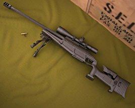 3D model of Blaser R93 LRS2