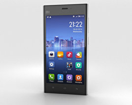 3D model of Xiaomi MI-3 Silver