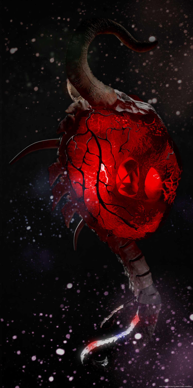 Hammer of Dragon heart 3d art