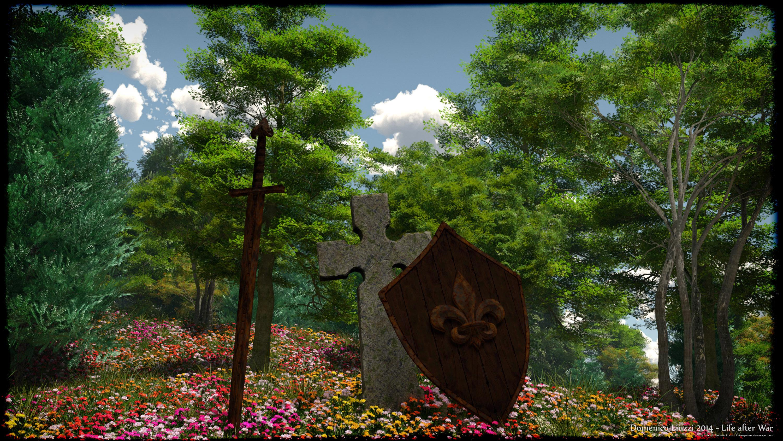 Life After War 3d art