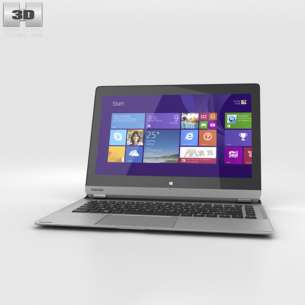 3D model of Toshiba Satellite P30W