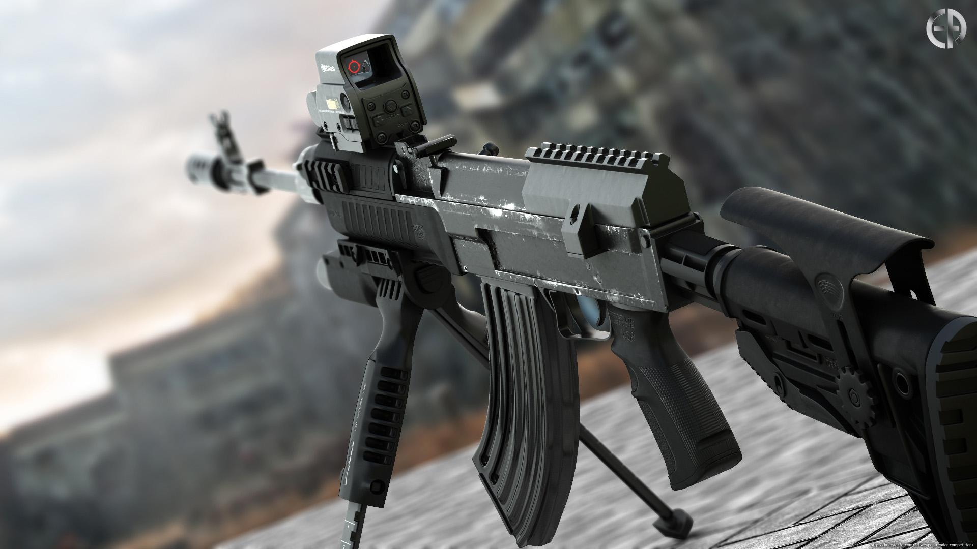 Upgraded VZ-58 3d art