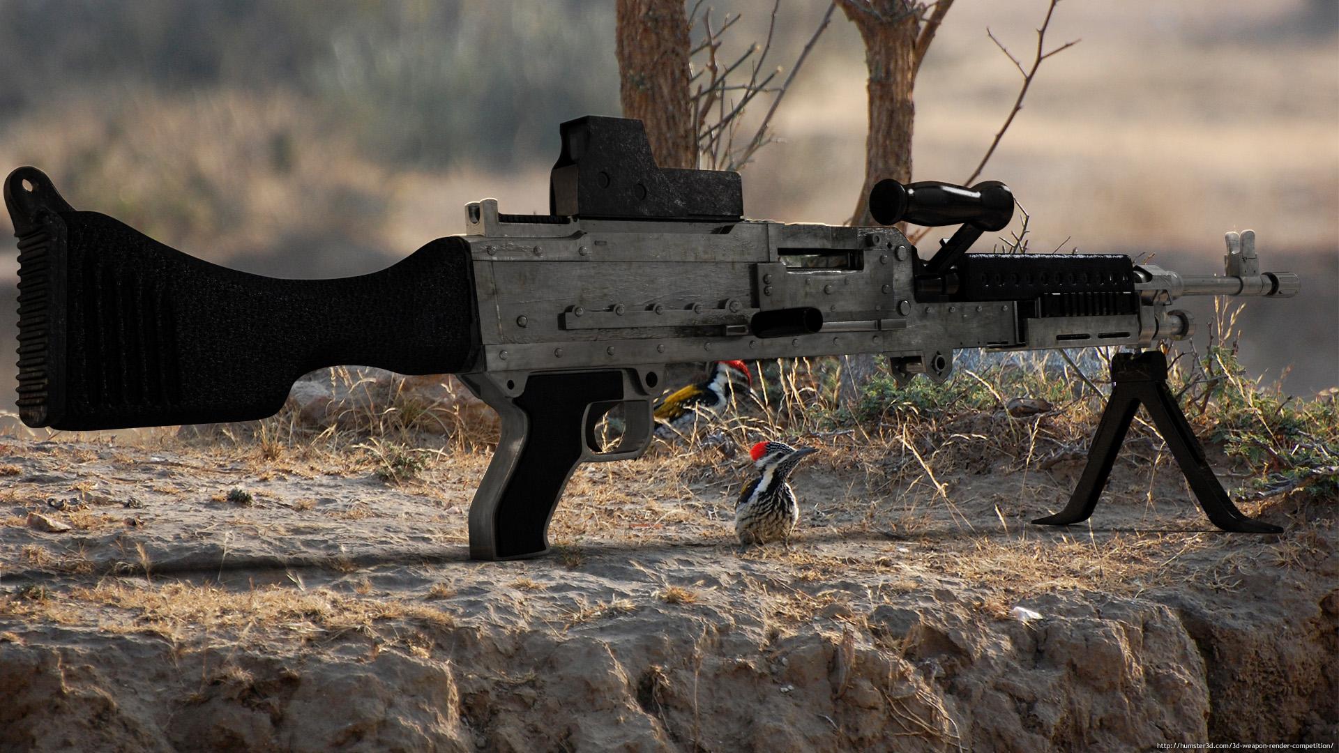 M240B 3d art