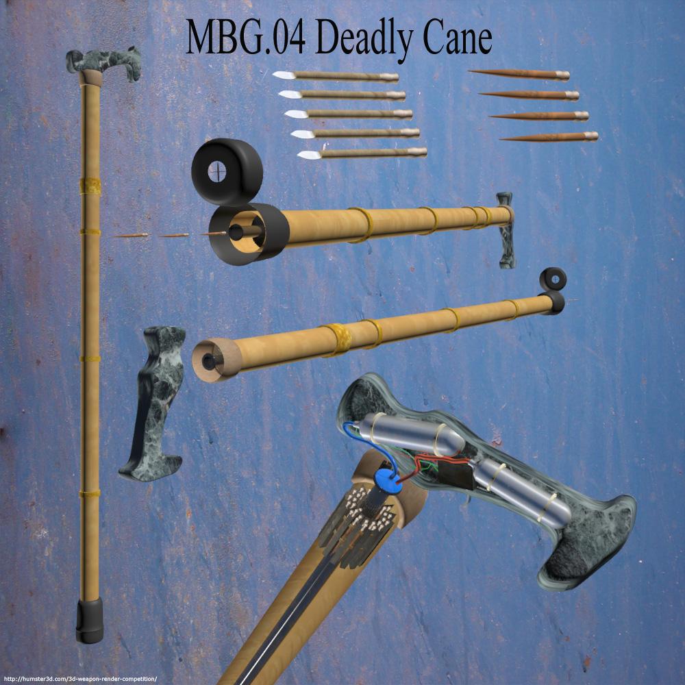 MBG.04/Machine Blow Gun 3d art