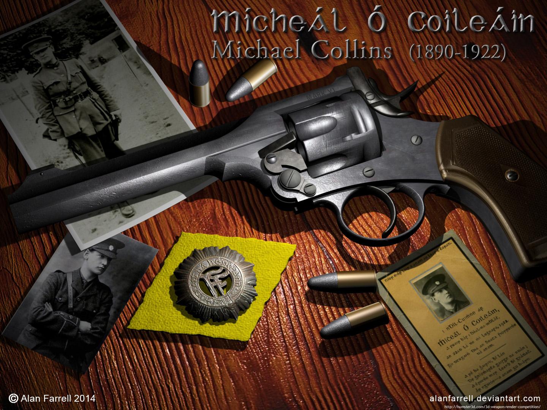 Michael Collins 3d art
