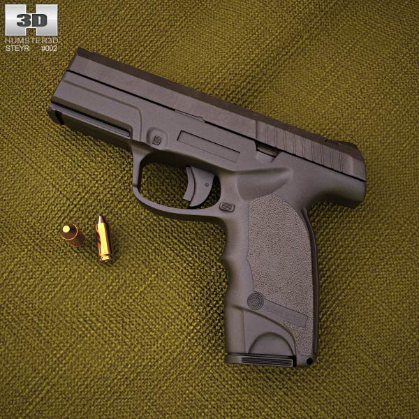 3D model of Steyr M9-A1