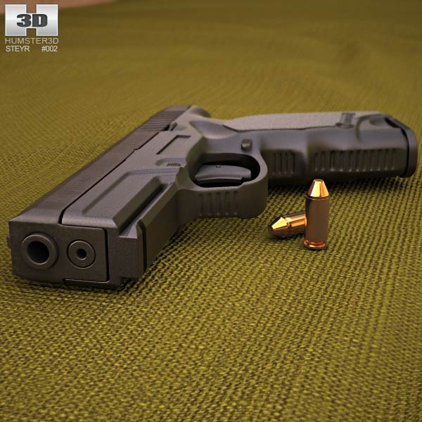 Steyr M9-A1 3d model