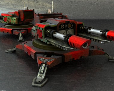 Warhammer sentry guns