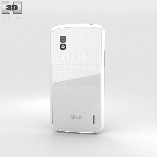 Google Nexus 4 White 3d model