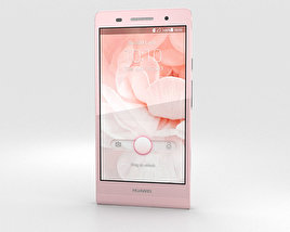 3D model of Huawei Ascend P6 Pink