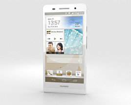 3D model of Huawei Ascend P6 White