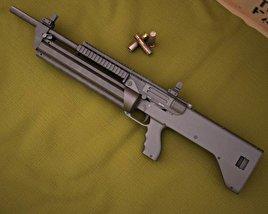 3D model of SRM Arms Model 1216