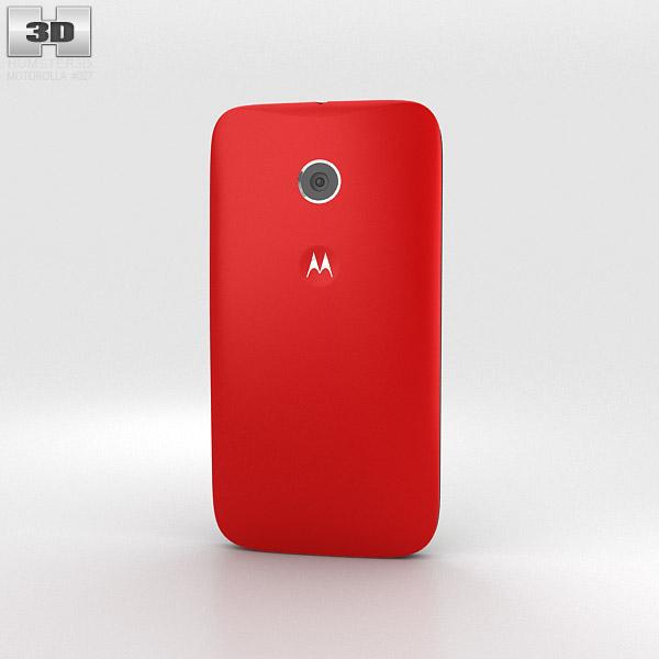 Motorola Moto E Cherry & Black 3d model