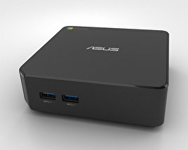 3D model of Asus Chromebox