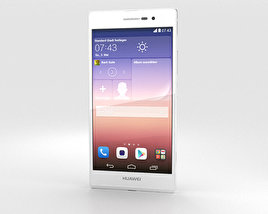 3D model of Huawei Ascend P7 White