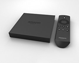 3D model of Amazon Fire TV