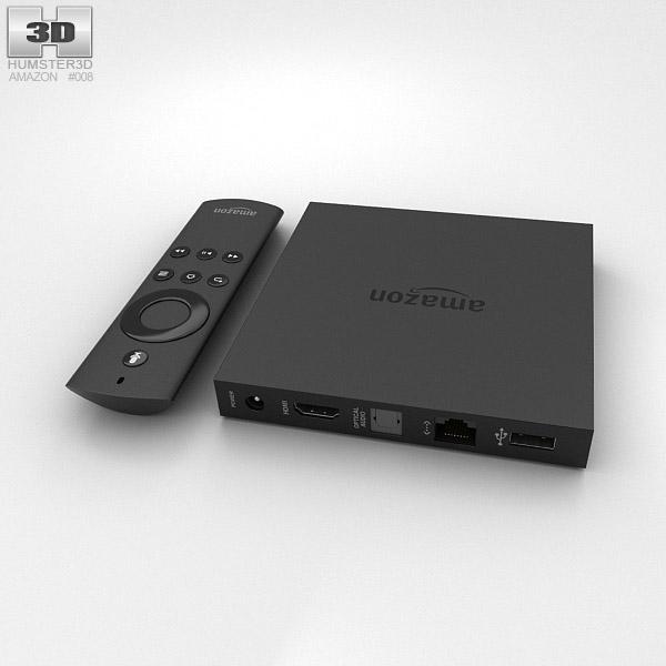 Amazon Fire TV 3d model