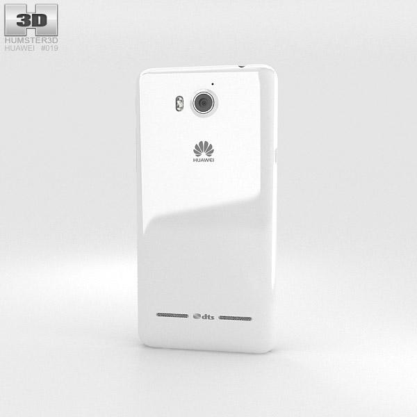 Huawei Ascend G600 White 3d model