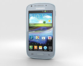 3D model of Samsung Galaxy Admire 2 (Cricket)