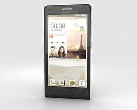 3D model of Huawei Ascend P7 Mini Black